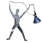 Monorail Metal Man Hang Functional Art