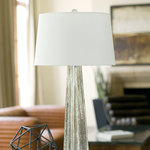 Glass Star Table Lamp -