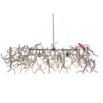 Little People Rectangular Hanging Lamp - Silver /