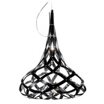 Super Morgana Suspension - Black/ Mirror /