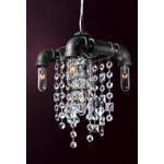 Tribeca Five Bulb Compact Pendant Chandelier