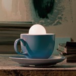 Cappuccino Table Lamp - Blue /
