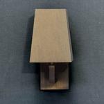 Quadra AP Mini Wall Sconce - Satin Bronze / Brown Oper