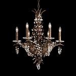Amytis Multi Light Chandelier - Heirloom Bronze / Crystal