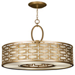 Allegretto 40 Pendant - Gold Leaf / Metal