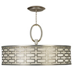 Allegretto 40 Pendant - Silver Leaf / Metal