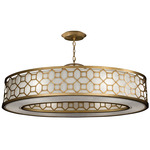 Allegretto 45 Pendant - Gold Leaf / Metal