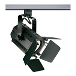 T295 PAR20 Theatrical Track Fixture 120V - Black /