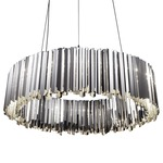 Facet Pendant - Stainless Steel /