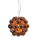 Beads Penta Pendant - Copper /