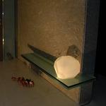 Asteroid Floor Lamp - White Plastic / Matte White
