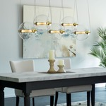 Otto Sphere Multi Light Pendant -
