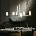 Ondrian Chandelier by Hubbardton Forge