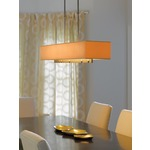 Fullered Notch Linear Adjustable Pendant by Hubbardton Forge