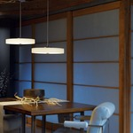 Disq LED Pendant by Hubbardton Forge