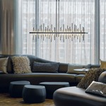 Cityscape LED Pendant Large by Hubbardton Forge