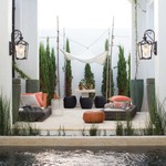 Sorrento Outdoor Wall Light by Hinkley Lighting