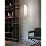 Lio Floor Lamp - Nickel / White