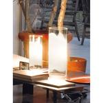 Lio Table Lamp - Nickel / White