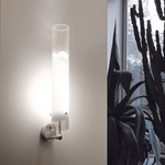 Lio Large Wall Lamp - Nickel / White