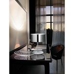 Thor Table Lamp - Nickel / Crystal