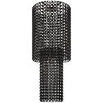 Giogali 94-inch Ceiling Light - Chrome / Black