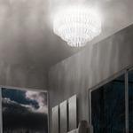 Ecos 90 Ceiling Light - Chrome / White