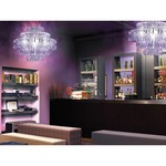 Ecos 90 Chandelier - Chrome / Alexandrite