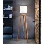 Trepai Floor Lamp - Chrome / White