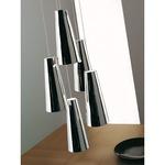 Cheope Pendant - Nickel / Mirror