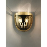 Dress Wall Light - Chrome / Topaz