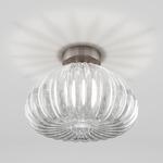 Diamante Ceiling Light - Nickel / Crystal