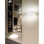 Cocumis Wall Lamp - Chrome / Grey