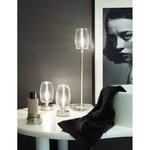 Damasco Large Table Lamp - Nickel / White