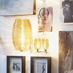 Damasco 2-light Wall Lamp - Nickel / Topaz