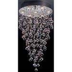 Girolamo Ceiling Flush - Chrome / Crystal
