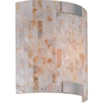 Schale Wall Sconce - Polished Steel /