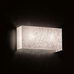 Dress R Wall Light - Stainless Steel / Ivory