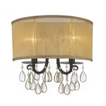 Hampton 2 Wall Light - English Bronze /