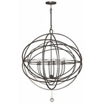 Solaris 10 Ring Chandelier