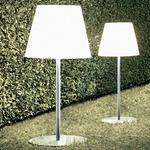 Amax Outdoor Floor Lamp - Grey / White