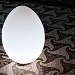 Uovo Outdoor Floor or Table Lamp