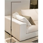 Airo Floor Lamp - Matte Nickel /