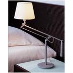 Galilea Mini Table Lamp - Titanium / Beige