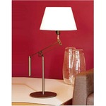 Galilea Table Lamp - Gold / White