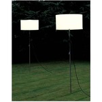 Harry Floor Lamp - White / White