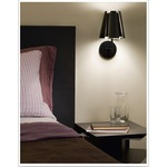 Little Twist Wall Light -  / Black
