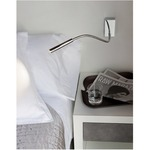 Oliver Swing Arm Wall Light - Chrome /