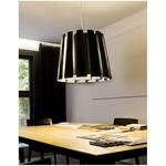 Twist Pendant -  / Black