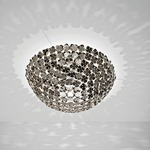 Ortenzia Ceiling Light Fixture - Nickel /